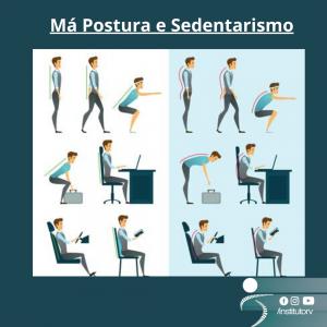 Má Postura e sedentarismo