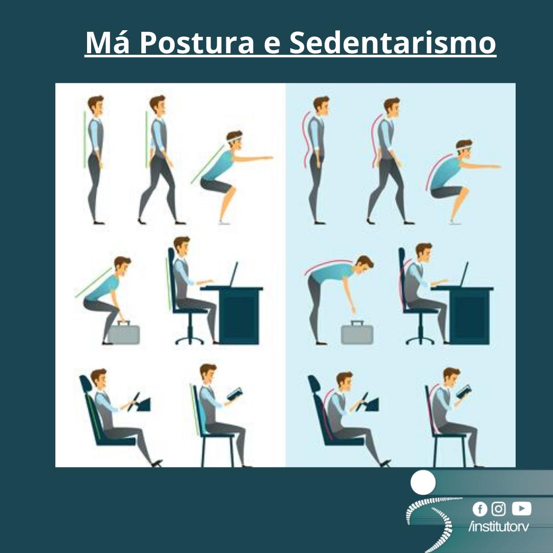 Má postura e sedentarismo em jovens