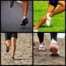 Efeitos da superfície do terreno na corrida