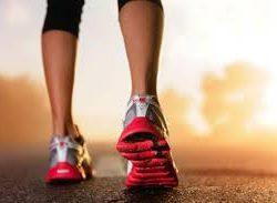 Calçados para caminhada e corrida