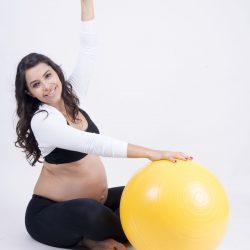 Alongamento no Pilates durante a gravidez