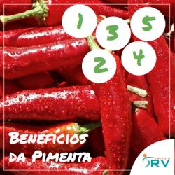 5 benefícios da pimenta