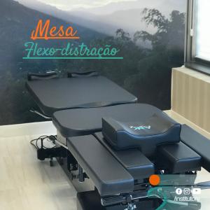 Mesa de descompressão vertebral